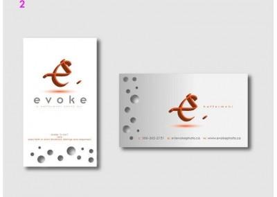 Evoke Business Cards